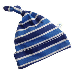Baby Boy Blue Stripe Hat