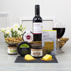 Wine And Cheese Selection Hamper - hampers
