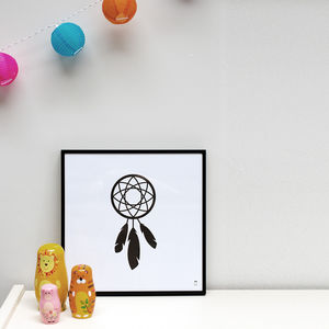 Dreamcatcher Poster - posters & prints for children