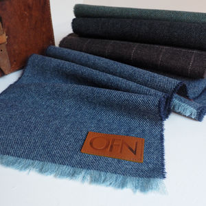 Embossed Monogram Lambswool Scarf