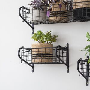 Wall Mounted Metal Shelves