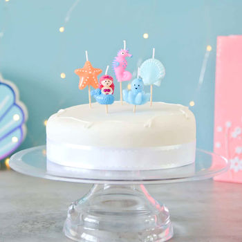 Under The Sea Birthday Cake Candles