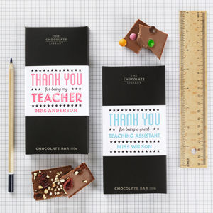 Thank You Teacher / Teaching Assistant Chocolate