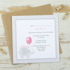 10 Ella Funk Personalised Invitations