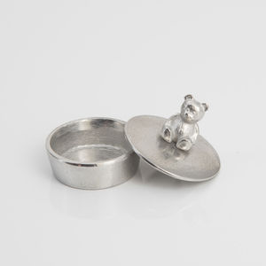 Teddy Bear Trinket Box