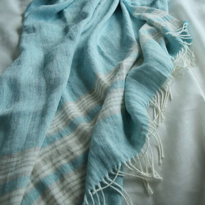 Linen Throw Felix - bedding & accessories