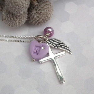 Angel Wing Christening Necklace - christening jewellery