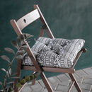 Iman Recycled Cotton Chair Pad