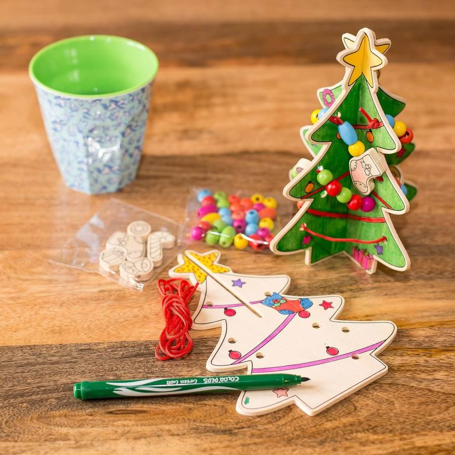 Make Your Own Wooden Christmas Tree Kit