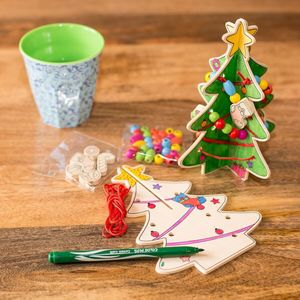 make your own wooden christmas tree kit christmas decorations - How To Make Your Own Christmas Decorations