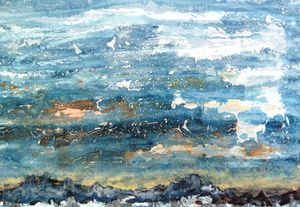 Seascape No 17 - modern & abstract