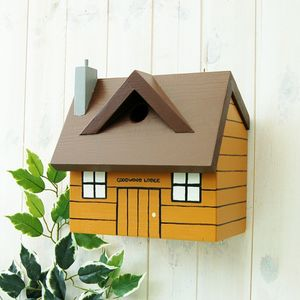 Personalised Log Cabin Bird Box - gifts for mothers