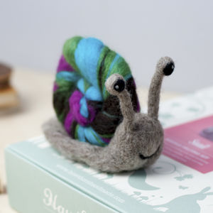 Snail Needle Felting Craft Kit