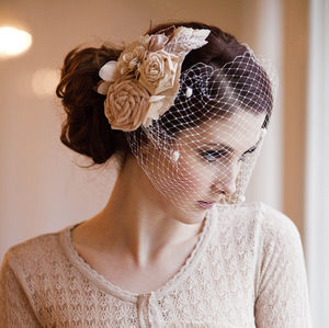 Vintage Blossom Bridal Hair Comb - wedding fashion