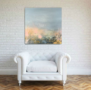 Original Painting In Canvas Textured 'A Moment Of Joy' - paintings