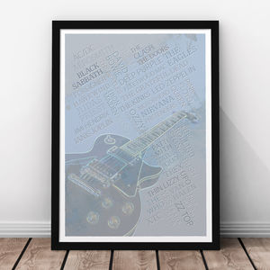 Rock Legends Print