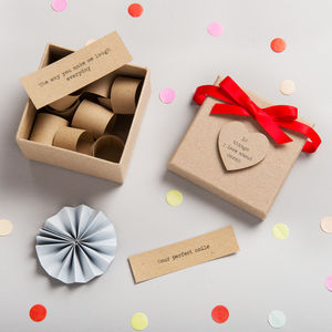 Personalised '10 Things I Love About…' Box - gifts for her