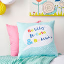 Children's Personalised Pastel Be Kind Cushion