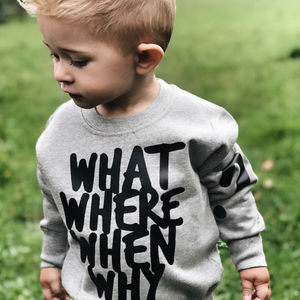 Question Everything Sweatshirt - women's fashion