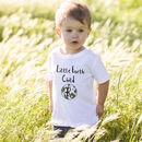 Child's Personalised Earth Child T Shirt