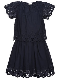 Heidi Navy Dress - dresses