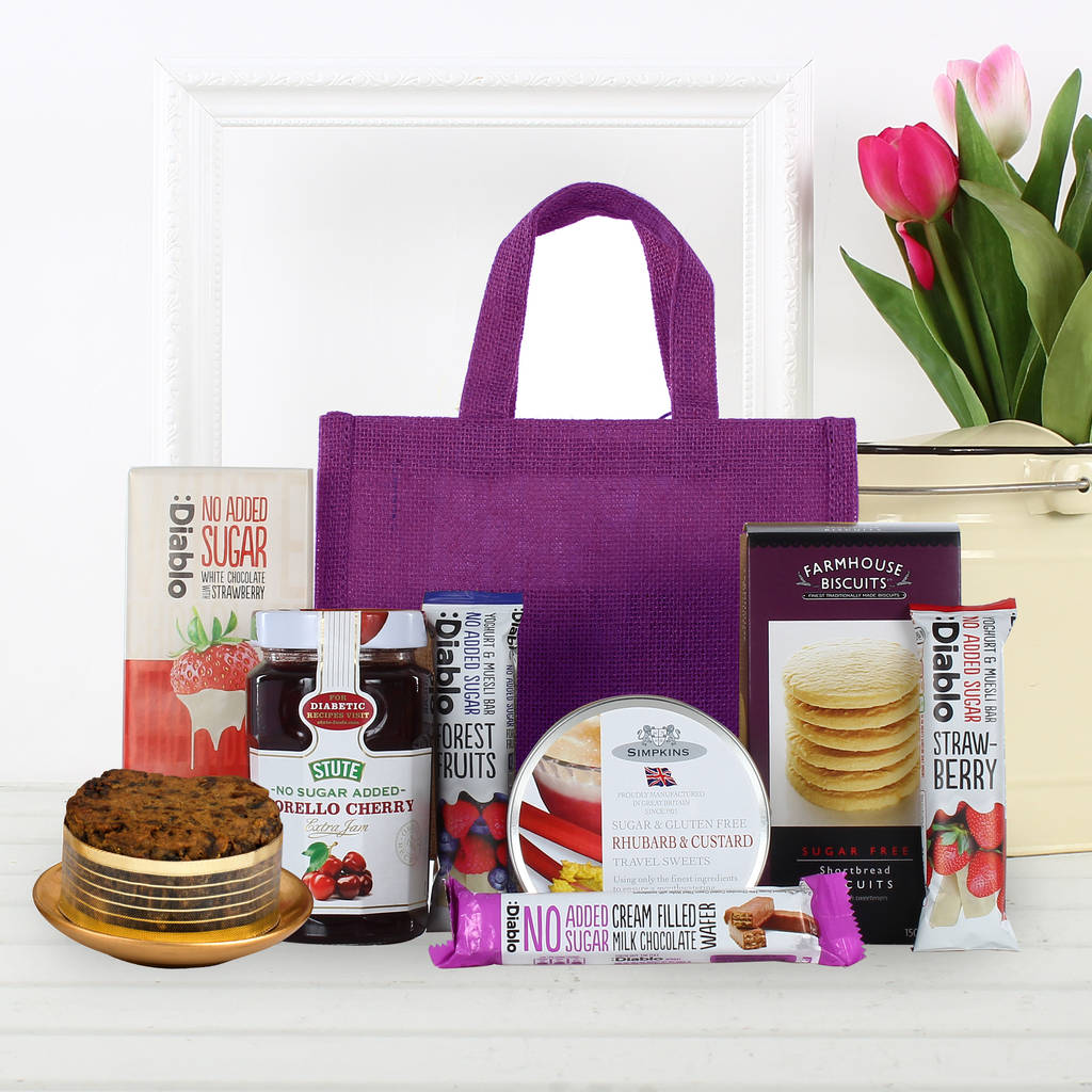 Diabetic Jute Bag Gift Hamper