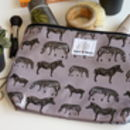 Zebra March Toiletry Bag