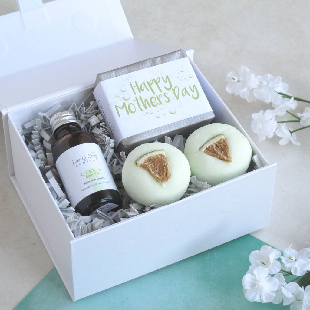 Mother's Day Gin & Tonic Pamper Collection Gift by Lovely Soap Company