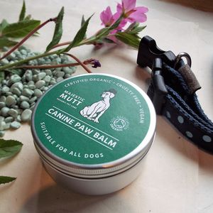 Organic Paw And Nose Balm Handmade For Dogs