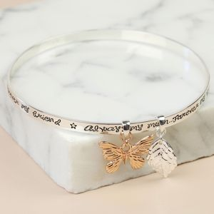 'Always My Mum' Charm Bangle