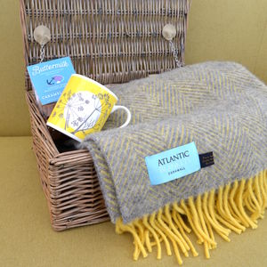 Blanket And Mug Gift Set - throws, blankets & fabric