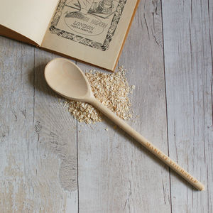 The Anti Star Baker And Perfect Cook Wooden Spoon