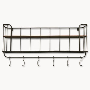 Granville Long Metal Shelf Unit - storage & organising