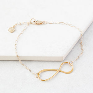 For All Time Gold Infinity Bracelet