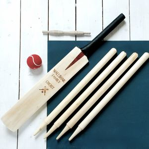 Personalised Family Cricket Set - let's play outside