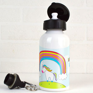 Personalised Unicorn Water Bottle - new in home