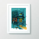 The London Pub A3 Print