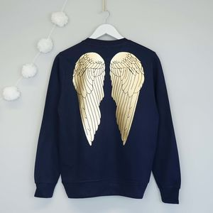 Angel Wings Christmas Jumper - christmas jumpers