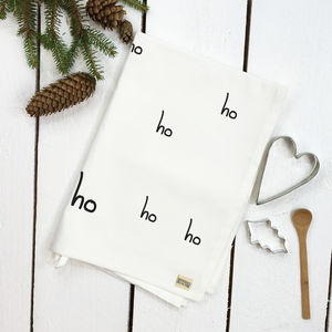 Ho Ho Ho Tea Towel