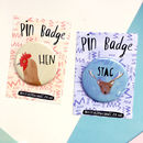 Check out the other badges for the whole bridal party!