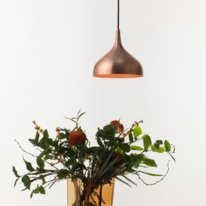 Vienna 21 Small Pendant Lamp, Copper