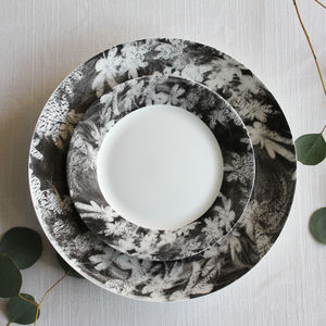 Wood Anemone Ceramic Side Plate - serveware