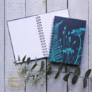 'Amanda's Garden' Spiral Bound Journal / Sketch Book