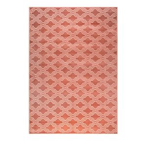 Flamingo Pink Geometric Rug - view all new