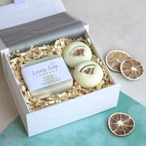 Gin And Tonic Bathtime Bliss Gift Set - bath & body