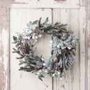 Cone And Berry Christmas Wreath Or Garland