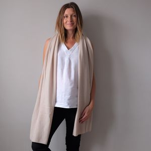 100% Cashmere Wrap Shawl - fashion accessories