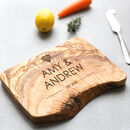 Personalised Live Edge Cheese/Chopping Board