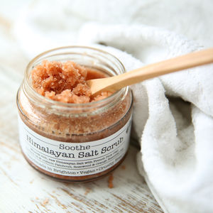 Soothe Himalayan Salt Body Scrub - bathroom