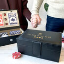 Personalised Poker Set
